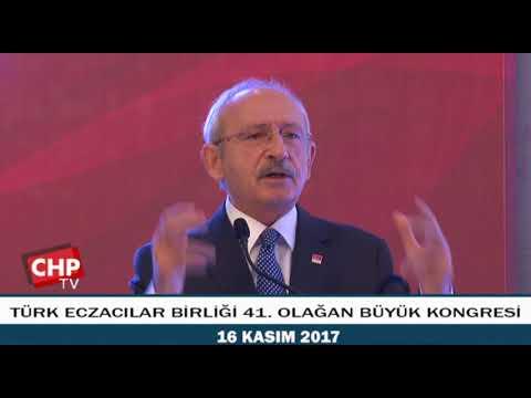 TÜRK ECZACILAR BİRLİĞİ 41. OLAĞAN BÜYÜK KONGRESİ 16/11/2017