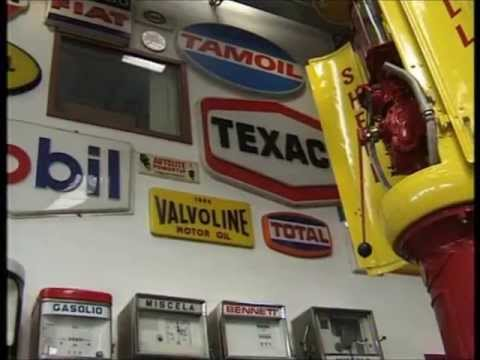 Fisogni Museum 1/2 vintage petrol - gas pumps, old tin signs, classic cars and much more..