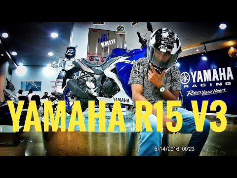Taking delivery of Yamaha R15 #V3 | Guwahati