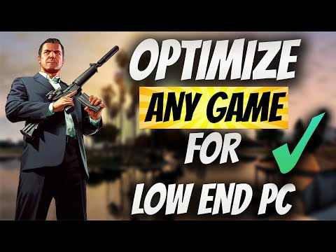 """✔Optimize """"Any Game"""" For """"Low End PC"""" ➤Without Sacrificing Quality! Quick Easy & Simple Steps! -2021"""