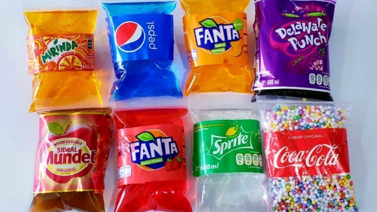 Explotando bolsas de SODAS