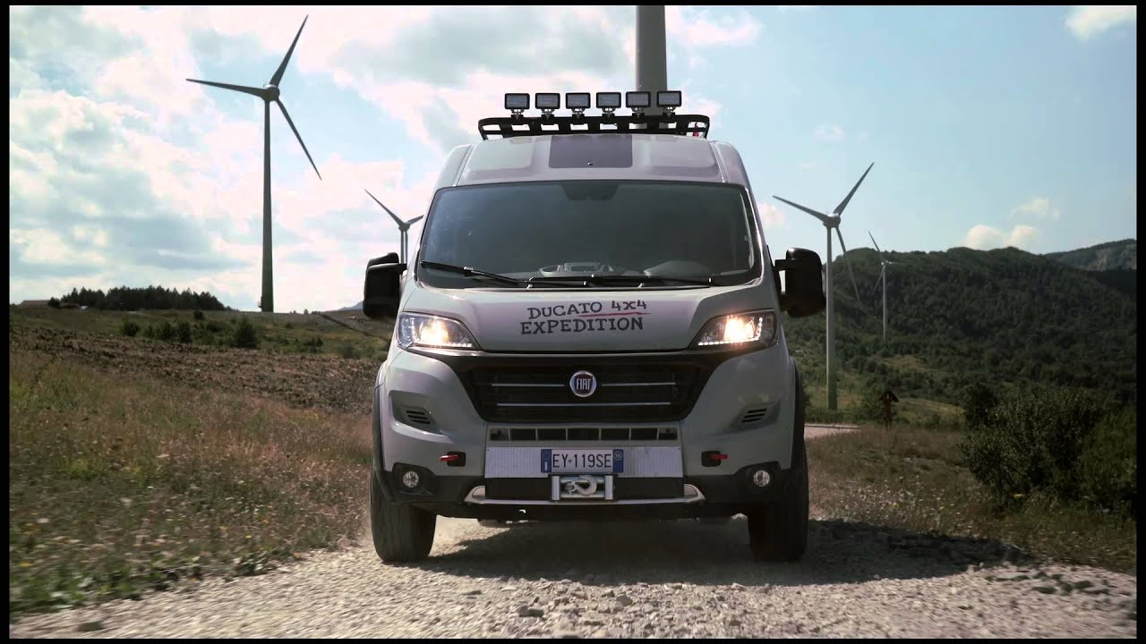 fiat ducato 4x4 expedition opening new roads youtube. Black Bedroom Furniture Sets. Home Design Ideas