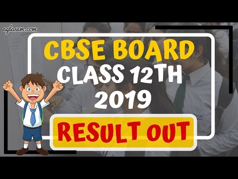 CBSE Board Class 12 Results 2019 Released || cbse.nic.in