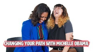 Michelle Obama Gives Advice on Changing Your Path thumbnail