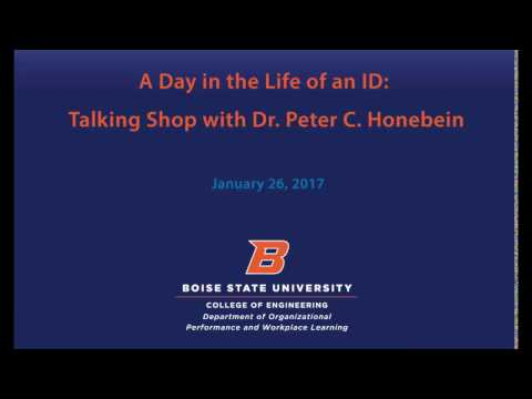 A Day in the Life of an ID: Talking Shop with Dr. Peter Honebein