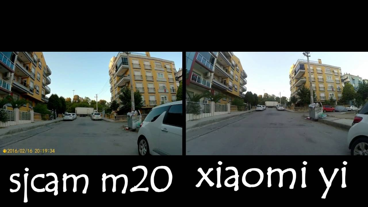 Xiaomi yi vs gopro hero action camera comparison cameralah com gopro - Sjcam M20 Vs Xiaomi Yi Video Test