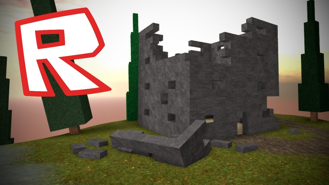 [ROBLOX Speed Build] - Destroyed Tower on the Hill