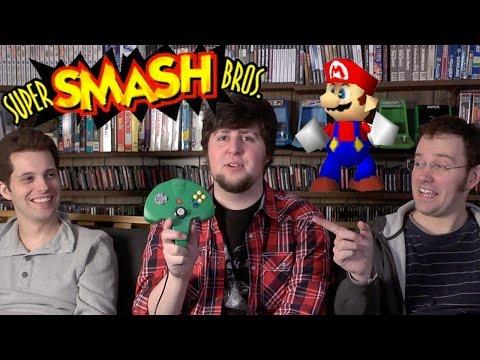 Smash Bros 64 (N64) Jontron, Mike Matei and James Rolfe!
