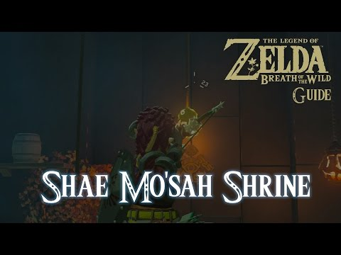 The Legend of Zelda: Breath of The Wild - Shae Mo'sah Shrine [Guide] [Switch]
