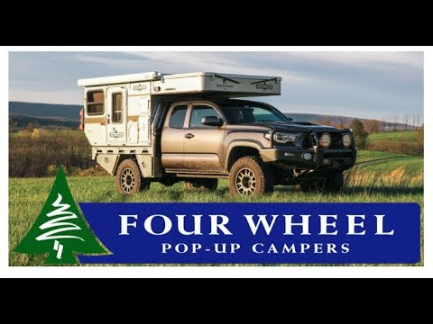 Lightweight Compact Truck Campers By Four Wheel Pop Up Campers Overland Expo 2018
