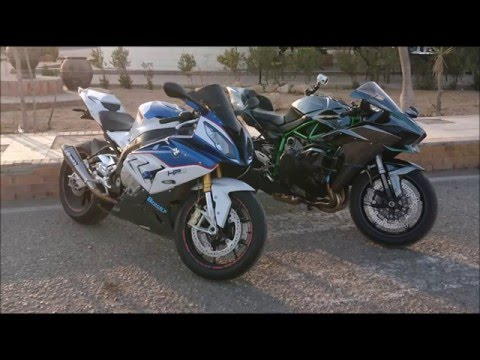 Kawasaki Ninja H2 stock Vs Bmw S1000rr tuned