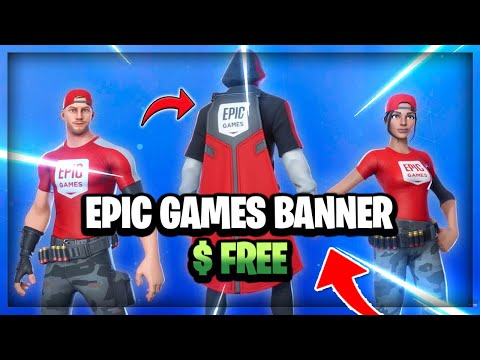 How To Get Epic Games Banner & Outfits... (Epic Games Banner)
