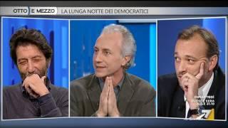 Marco Travaglio - Matteo Richetti - Massimo Cacciari / Otto e mezzo 8 nov 2016