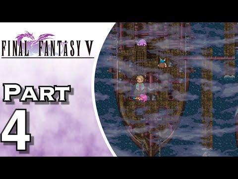 Let's Play Final Fantasy V iOS (Gameplay + Walkthrough) Part 4 - Ship Graveyard