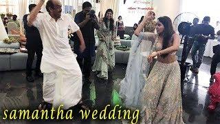 Gambar cover Samantha Dances in Her Sangeeth   Samantha   Akkineni Naga Chaitanya   Samantha Wedding Dance