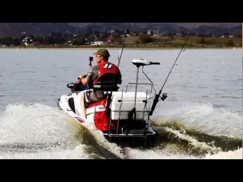 Jetski bass fishing with the pac rac youtube for Jet ski fishing setup