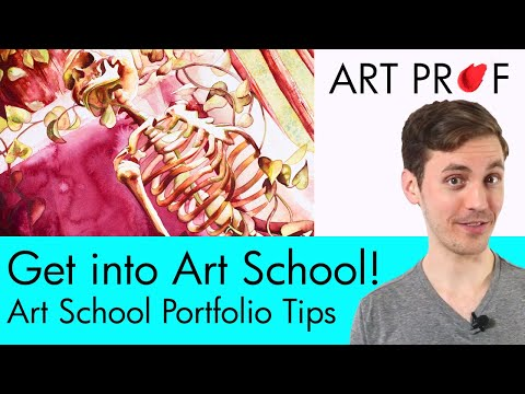 How to Prepare an Art Portfolio for Art School Admission