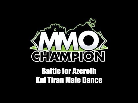 Patch 8.1.5 - Kul Tiran Male Dance