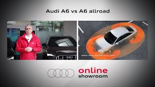 Audi Online Showroom – Audi A6 vs. A6 allroad