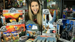 Vlog - All the Jurassic World Toys I got from the US