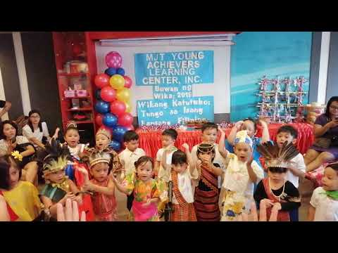 Sabayang Pagbigkas - Pre- Kinder | MJT Young Achievers Learning Center