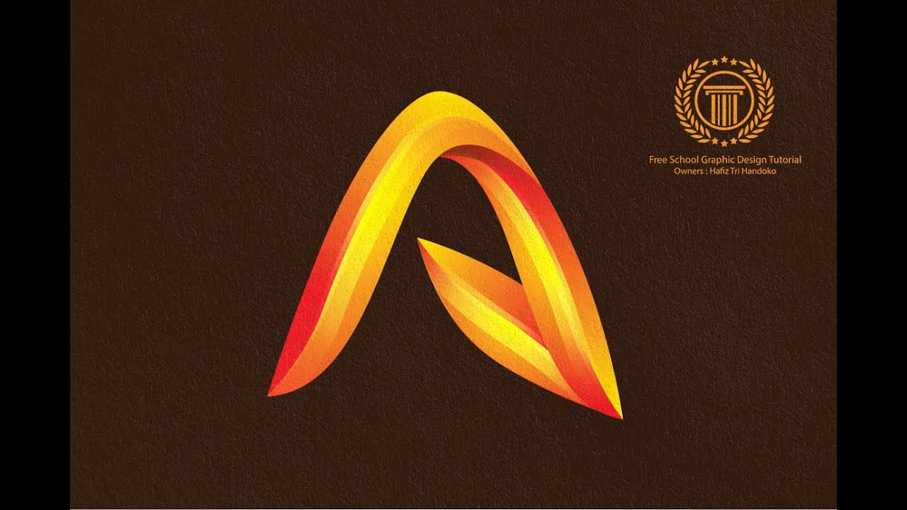 How to Design 3D Logo in Adobe illustrator CS6 - Create Abstract ...