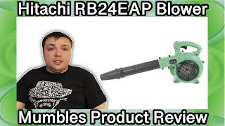 Hitachi RB24EAP Handheld Gas Blower - Mumbles Product Review