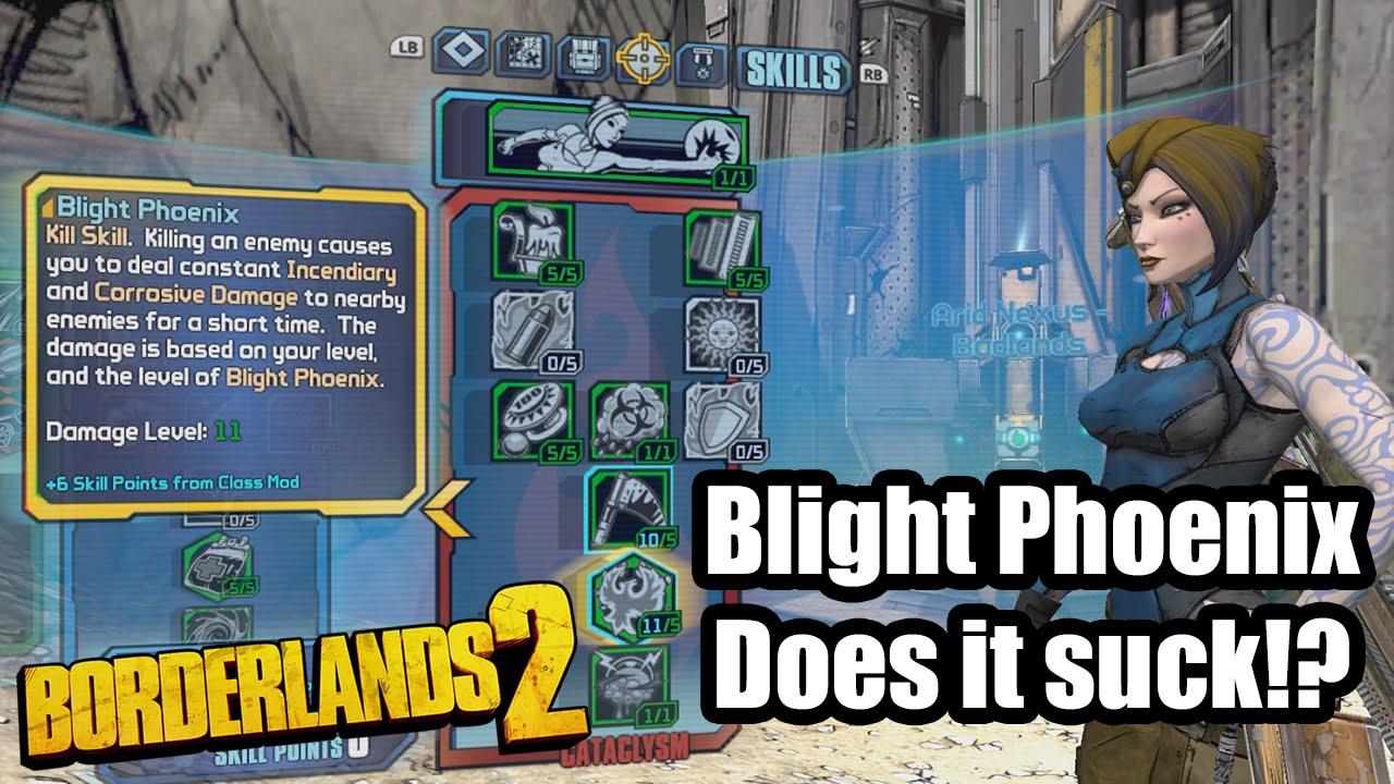 Borderlands 2: Blight Phoenix - Does it suck?