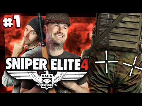 Sniper Elite 4 w/ Sjin #1 - The Two Cheek Takedown