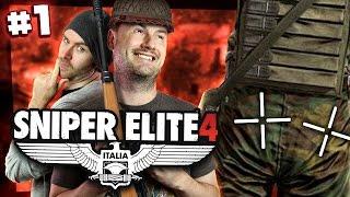 Sniper Elite 4 w/ Sjin #1 - The Two Cheek Takedown