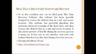Mac Data Recovery Software Reviews