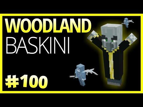 Woodland Baskını ve Harita İndirme Linki  -  Minecraft Türkçe Survival -  Bölüm 100