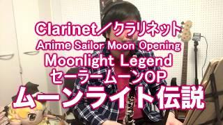 【セーラームーンOP】ムーンライト伝説をクラリネットで演奏してみた。Clerinet cover Moonlight Legend ‐Sailor Moon Opening
