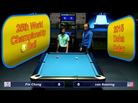 Pin Chung vs. Shane Van Boening