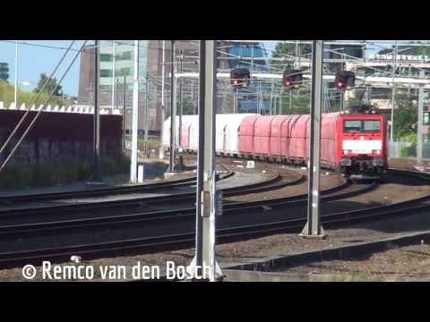 DBS 189 068-0 met een kalktrein te Amersfoort 20 juli 2013
