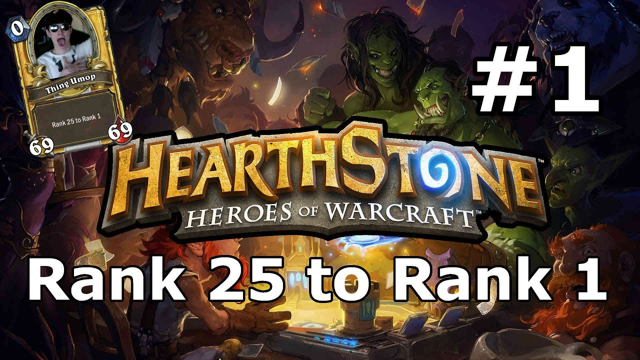 hearthstone how to get to rank 5