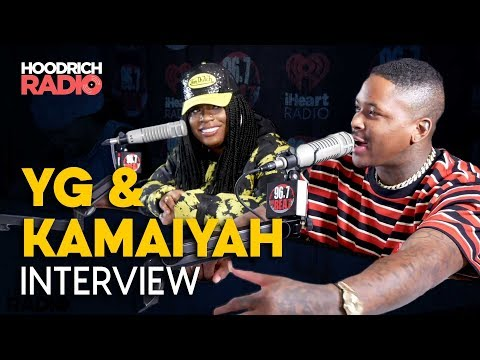 DJ Scream - YG & Kamaiyah Talk Staying Dangerous & More with DJ Scream on Hoodrich Radi