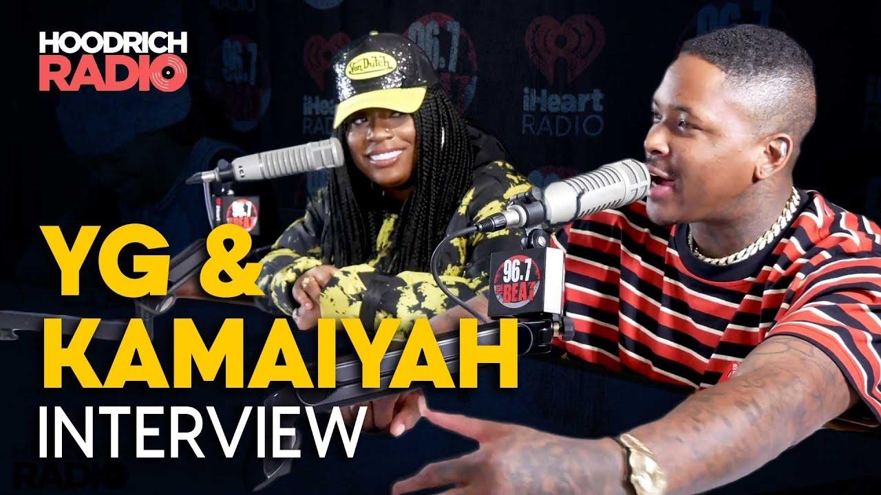 YG & Kamaiyah Talk Staying Dangerous & More with DJ Scream on Hoodrich Radio