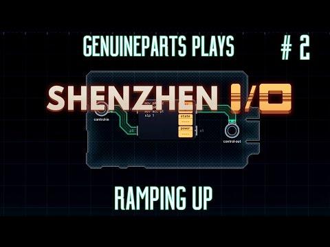 SHENZHEN I/O | Ramping up