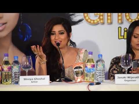 Shreya Ghoshal Singing Without Music - Sun Raha Hai Na Tu