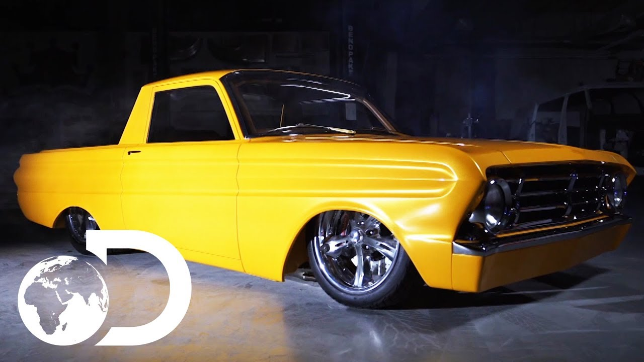 Kindig It Design >> Check Out This Vibrant 1964 Ranchero | Bitchin' Rides - YouTube