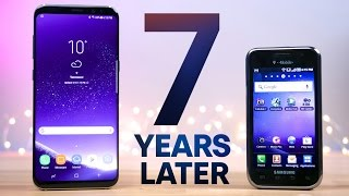 Samsung Galaxy S8 vs First Galaxy S! 7 Year Comparison(, 2017-04-11T15:32:27.000Z)