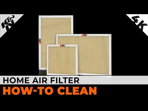 K&N Lifetime Home Air Filter  Cleaning Instructions | OFFICIAL