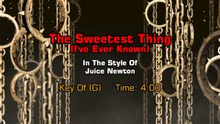 Video Juice Newton - The Sweetest Thing (I've Ever Known) (Backing Track) download MP3, 3GP, MP4, WEBM, AVI, FLV September 2017
