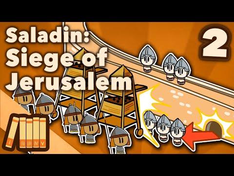 Saladin & the 3rd Crusade - Siege of Jerusalem - Extra History - #2