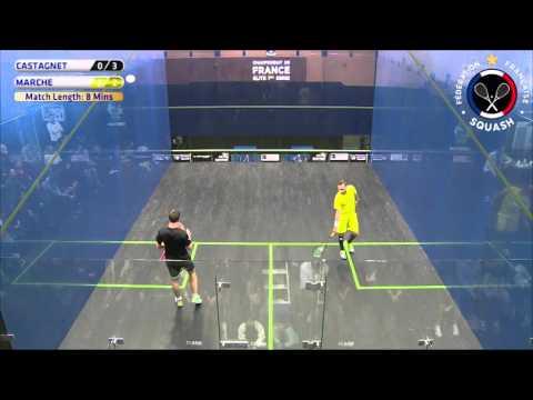 Mathieu CASTAGNET V Gregoire MARCHE Male Final Match 5 Day 3