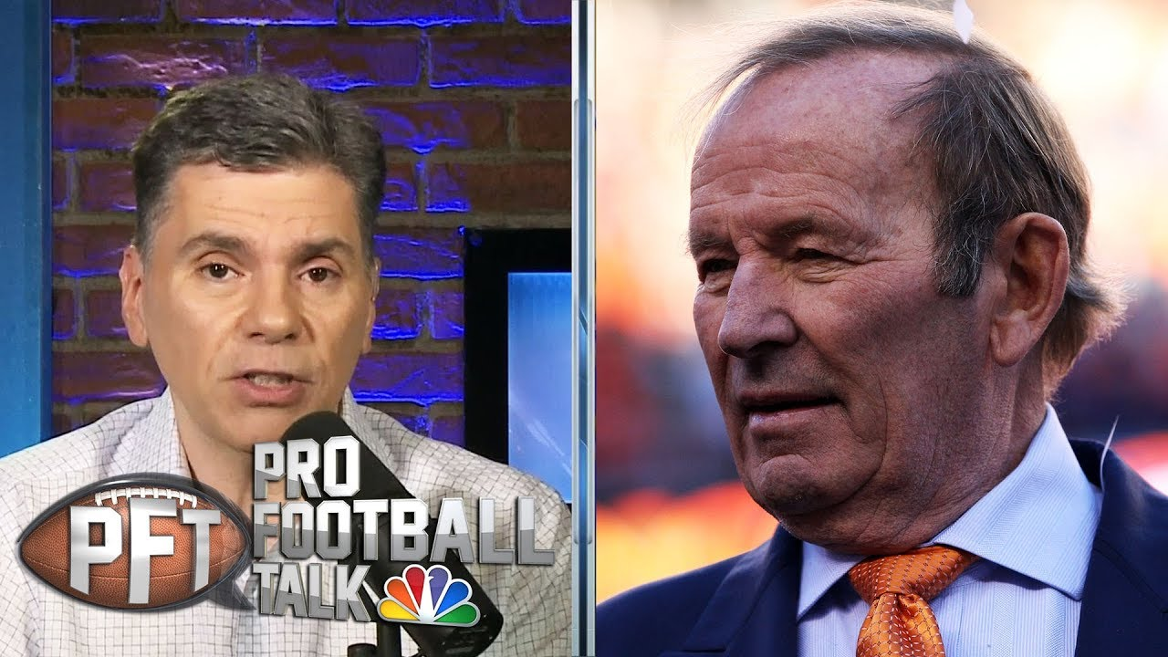 PFT Overtime: Legacy of Broncos owner Pat Bowlen, where does Denver go from here? | Pro Football Tal
