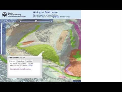 British Geological Survey OpenGeoscience  - Free maps and photographs for non-commmercial use