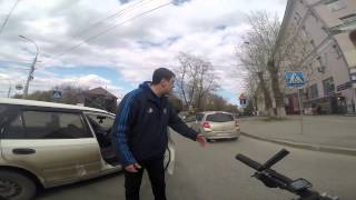 ДТП велосипедист - Honda, Новосибирск thumbnail