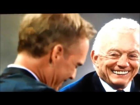 Joe Buck Jerry Jones Interview  in tears Concussions Jimmy Johnson  Dallas Cowboys
